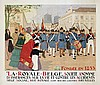 Poster by Henri Cassiers - La  Royale Belge Société Anonyme d'Assurances, Henri Cassiers, €280