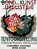 Poster by Willem H. Gispen - Nederlandsche Bond voor Kunst in Industrie, Willem Hendrik Gispen, €160