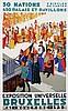 Poster by Joseph van den Bergh - Exposition Universelle Bruxelles, Joseph