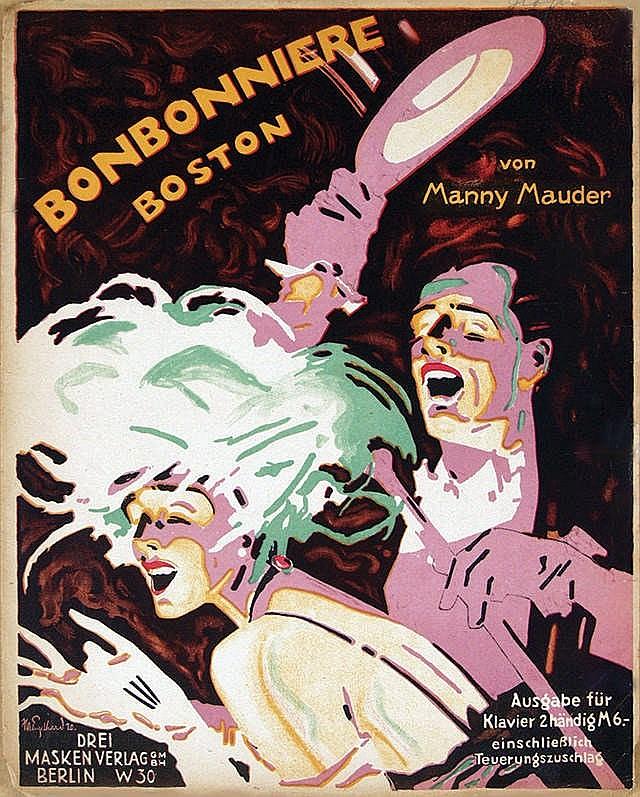 Poster by Julius U. Engelhard - Bonbonniere Boston