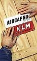 [ Poster ] Joop van Heusden (1920) KLM Aircargo 59,5x99, ca. 1950, pr Mouton & Co. A-, Joop