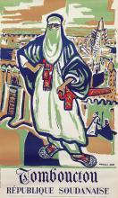 Poster by Monique Cras - Tomboucton Republique Soudanaise
