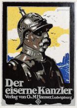 Poster by Siegmund von Suchodolski - Der eiserne Kanzler (Otto von Bismarck)