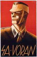 Poster by Sepp Semar - SA-Voran