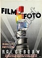 Poster by Charles Burki - Film en Foto R.A.I. Gebouw, Charles Burki, Click for value