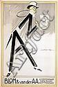 Poster by Louis Raemaekers - Blom & van der AA, Louis Raemaekers, Click for value