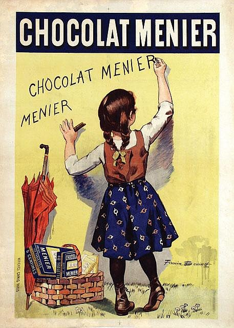 Poster by Firmin Bouisset - Chocolat Menier