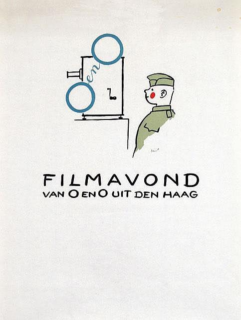 Poster by Jo Spier - O en O Filmavond