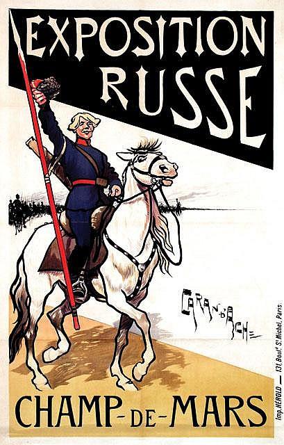 Poster by  Caran d'Ach (ps. Emmanuel Poiré, 1859-1909) - Exposition Russe