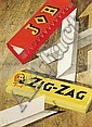 Poster by Jan Bons - Job Zig-Zag, Jan Bons, Click for value