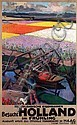 Poster by Joseph Rovers - Besucht Holland im Frühling Niederl. Eisenbahnen, Joseph Johannes Rovers, Click for value