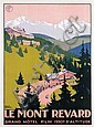 Poster by Roger Broders - Le Mont Revard,  Mont, Click for value