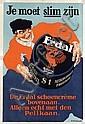 Poster by Charles Verschuuren jr. - Erdal Schoencreme Je moet slim zijn, Charles Verschuuren, Click for value