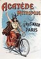 Poster by Charles Tichon - Acatène Métropole Paris, Charles Tichon, Click for value