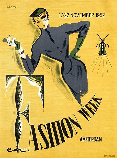 Poster by  Sacha - Fashion Week Amsterdam