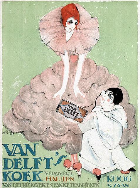 Poster by Joan Collette - Van Delft's Koek, Koog a/d Zaan