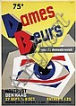 Poster by Charles Burki - 75e Dames Beurs, Charles Burki, Click for value