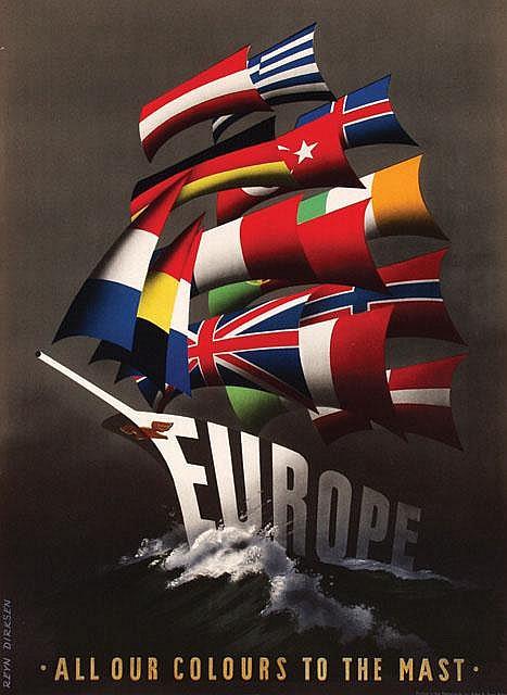 Posters (23) by Reyn Dirksen - Europe