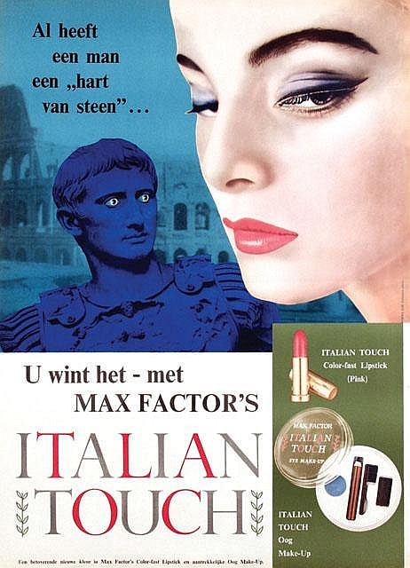 Poster by Anonymous - Italian Touch Max Factor