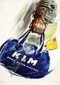 Posters (2) by Joop van Heusden - KLM, Joop