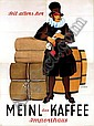Poster by Otto  Exinger - Meinl Kaffee Importhaus, Otto Exinger, Click for value