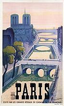 Poster by Roger de Valerio - Paris