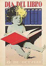Poster by Arturo Ballester - Dia del Libro