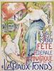 Poster by Charles l'Eplattenier  - Fête fédérale gymnastique La Chaux-de-Fonds, Charles L'Eplattenier, €800
