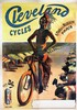 Poster by  PAL - Cleveland Cycles Paris, (Triumphant Native American), Jean Paleologue, €1,200