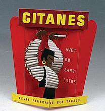 Poster by Hervé Morvan - Gitanes