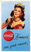 Poster by  Anonymous - Coca Cola Kenmerk van Goede smaak!