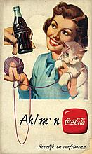 Poster by  Anonymous - Ah! M'n Coca Cola