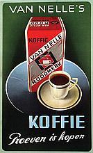 Poster by Pieter den Besten - Van Nelle's Koffie