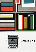 Poster by Giovanni Pintori - Olivetti Studio 44