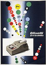 Poster by Giovanni Pintori - Olivetti Divisumma