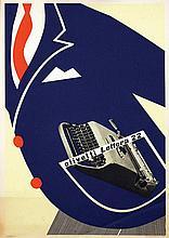 Poster by Egidio Bonfante - Olivetti Lettera 22