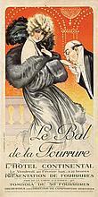 Poster by Maurice Milliere - Le Bal de la Fourrure (The Fur Ball)