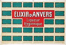 Poster by  Anonymous - Élixer d'Anvers (Biljart)