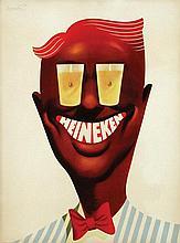 Poster by Frans Mettes - Heineken (Charley)