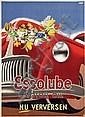 Poster by Eppo Doeve - Essolube Motor Oil Nu verversen, Eppo Doeve, Click for value