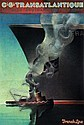 Poster by Terry Allen - Cie. Gle. Transatlantique French Line, Terry Allen, Click for value