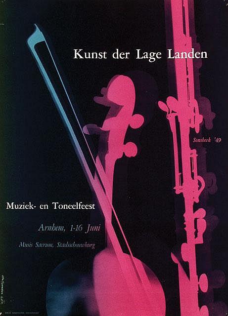 Poster by Otto Treumann - Kunst der Lage Landen