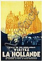 Poster by Joseph Rovers - Visitez La Hollande, Joseph Johannes Rovers, Click for value