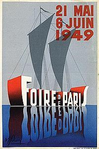 Poster by Léon Victor Solon - Foire de Paris