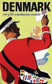 Poster by Henry Thelander - Denmark