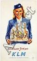 Poster by Joop van Heusden - KLM A Nueva York por, Joop