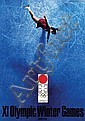 Poster by Yusaku Kamekura - Olympic Winter Games Sapporo, Yusaku Kamekura, Click for value
