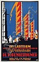 Poster by Louis C. Kalff - Delftsch Studentencorps, De Torenbestormer, Louis Christiaan Kalff, Click for value