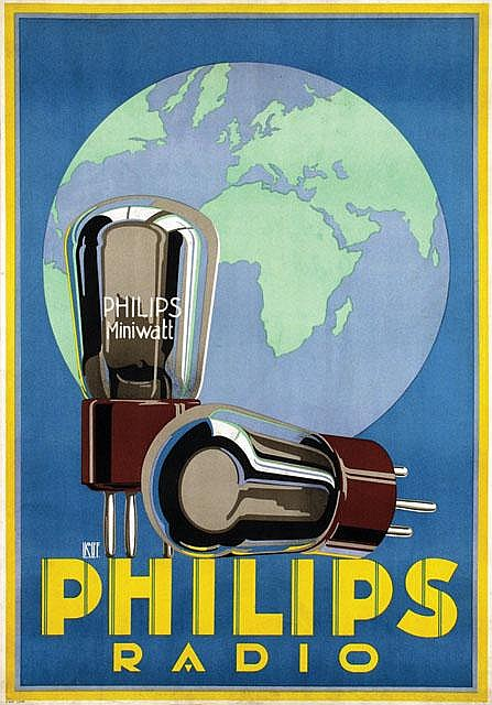 Poster by Louis C. Kalff - Philips Radio