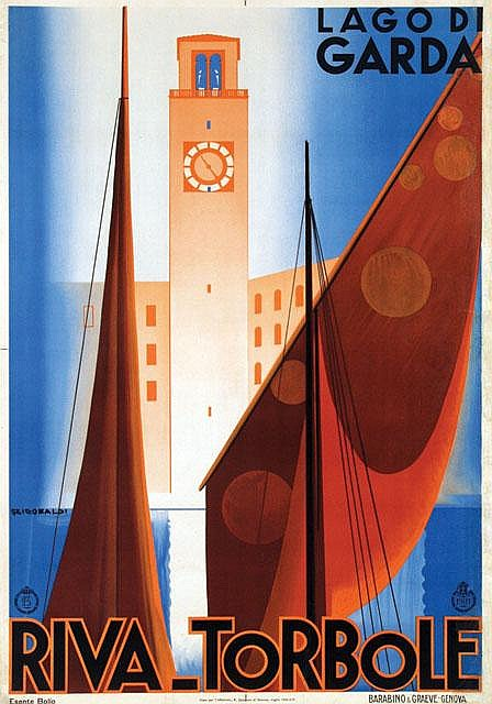 Poster by Giuseppe Riccobaldi - Riva-Torbole